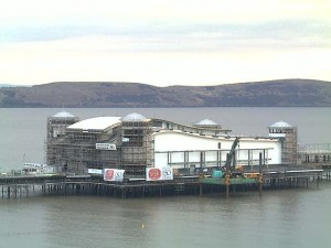 Weston-Super-Mare Pier project since it was decided to reopen during 2010.
