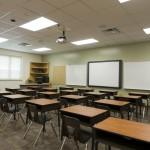 LED school lighting