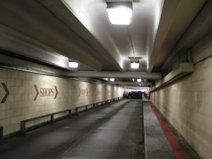 LED lighting solution for car parks