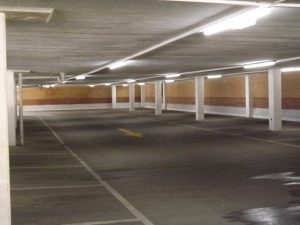 Bromley car park with LED lighting