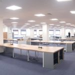 basildon council offices with new LED Lighting