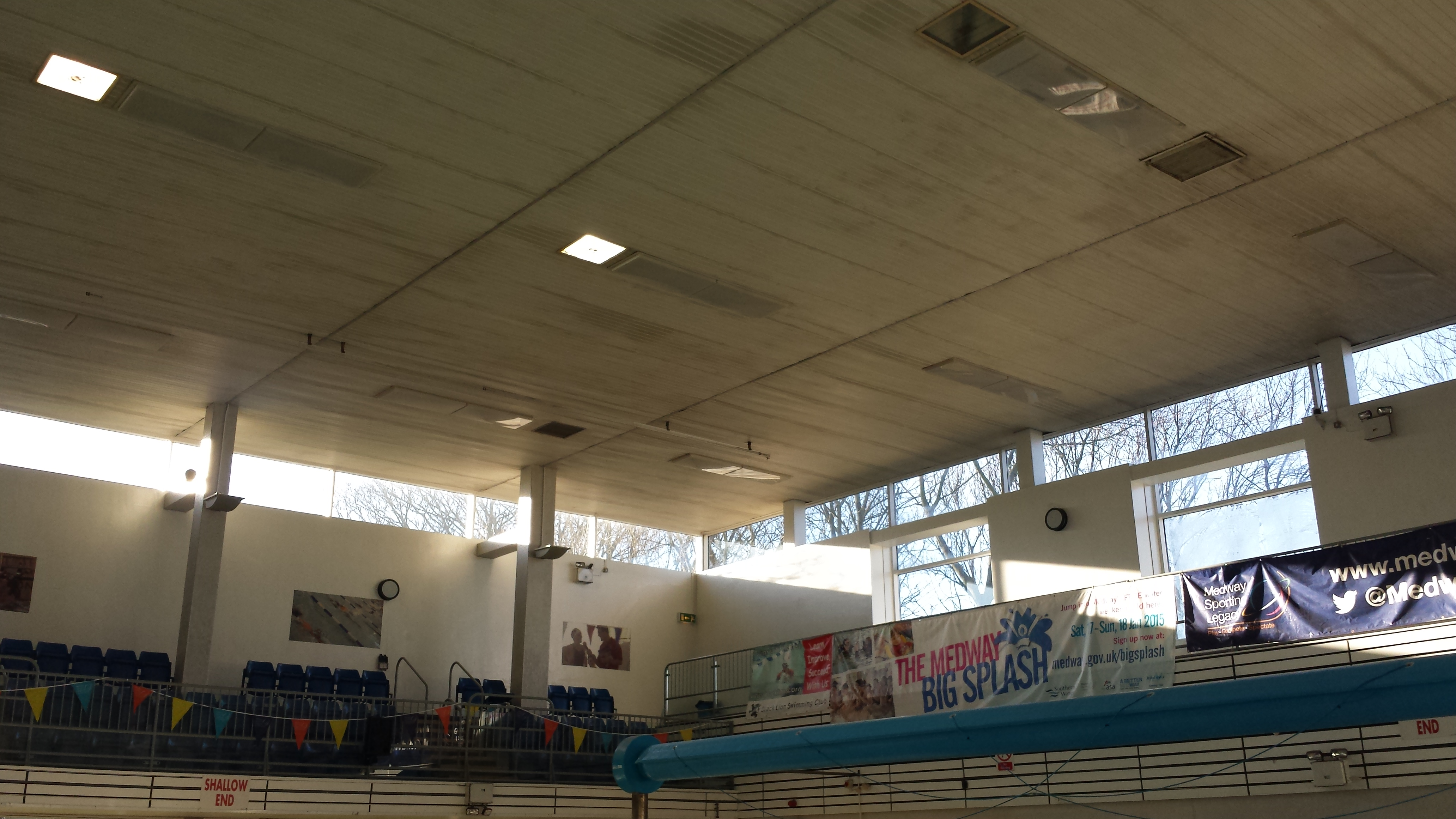 Medway Park Pool before