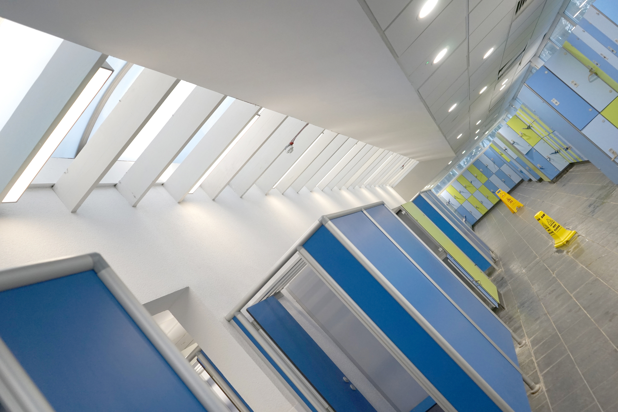 Medway Park_pool changing area_LED lighting