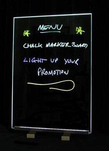 Chalk marker boards