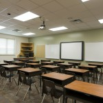 LED school lighting