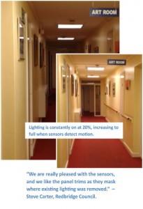 Redbridge Council new LED Lighting