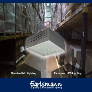 New LED lighting for plastic moulding manufacturer based in Doncaster