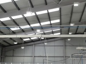 Constant Lux with LED Bay Light