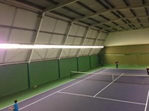 Indoor Tennis Court Lighting