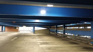 LED Lighting for car parks