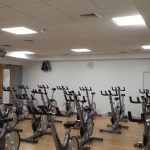 LED Lighting at Spin Studio at Bromley Leisure Centre
