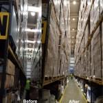 Warehouse Aisle LED Lighting