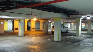 Car Park Safety with new LED Lighting
