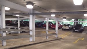 Aylesbury car park led lighting