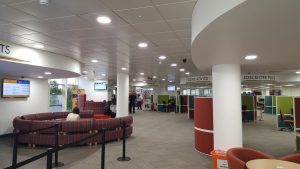 New reception LED Lighting for Basildon Council