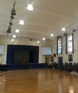 School Hall Lighting