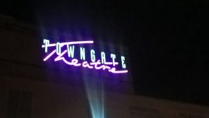 LED Neon signs at Towngate Theatre