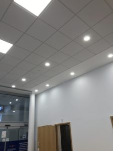 Maidstone Gateway New office lighting upgrade to LEDs
