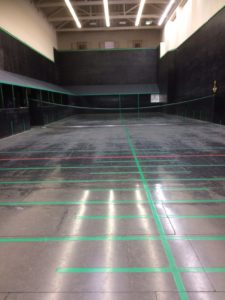 Lords Real Tennis Court LED Lighting before