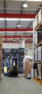 Sovrin Warehouse - New LED Lighting