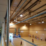 LED Lighting at Tunbridge Wells Sports Hall Before