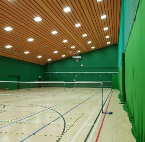 LED Lighting at Inverclyde National Sports Training Centre in Scotland